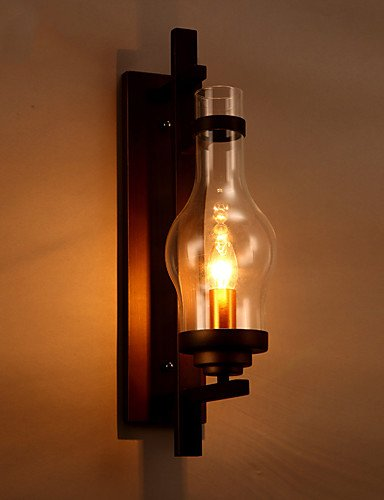 qiuxi simple fashion wall lamp vintage sconce lodge retro ir